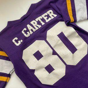 Vintage Carter Minnesota Vikings Football T-Shirt